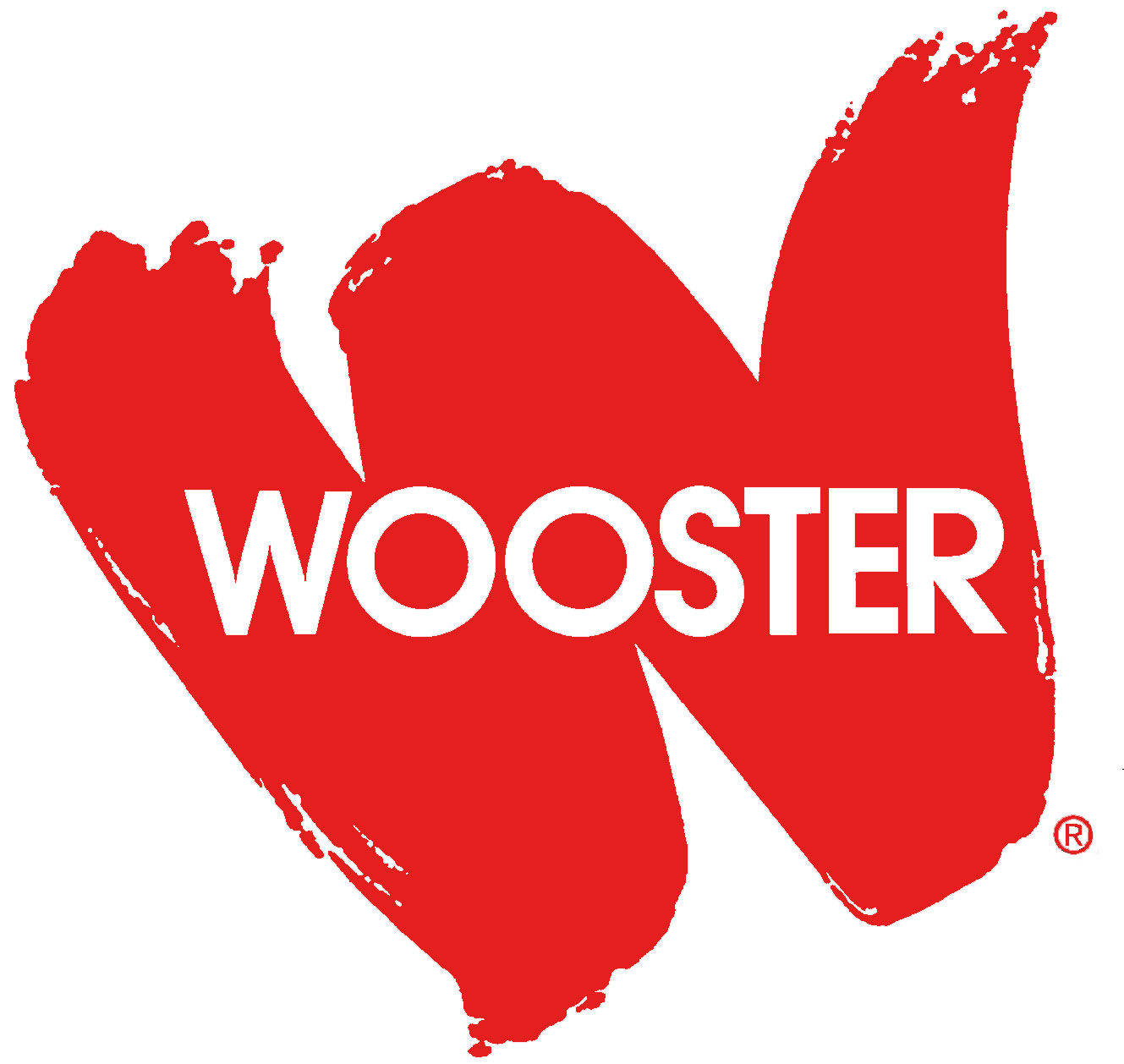 Wooster in red W