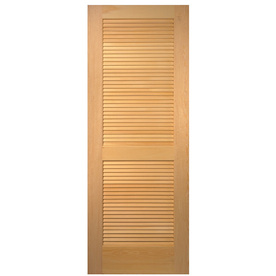 Hollow core birch m m lumber for 18 inch louvered door