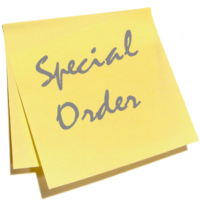 Special order2