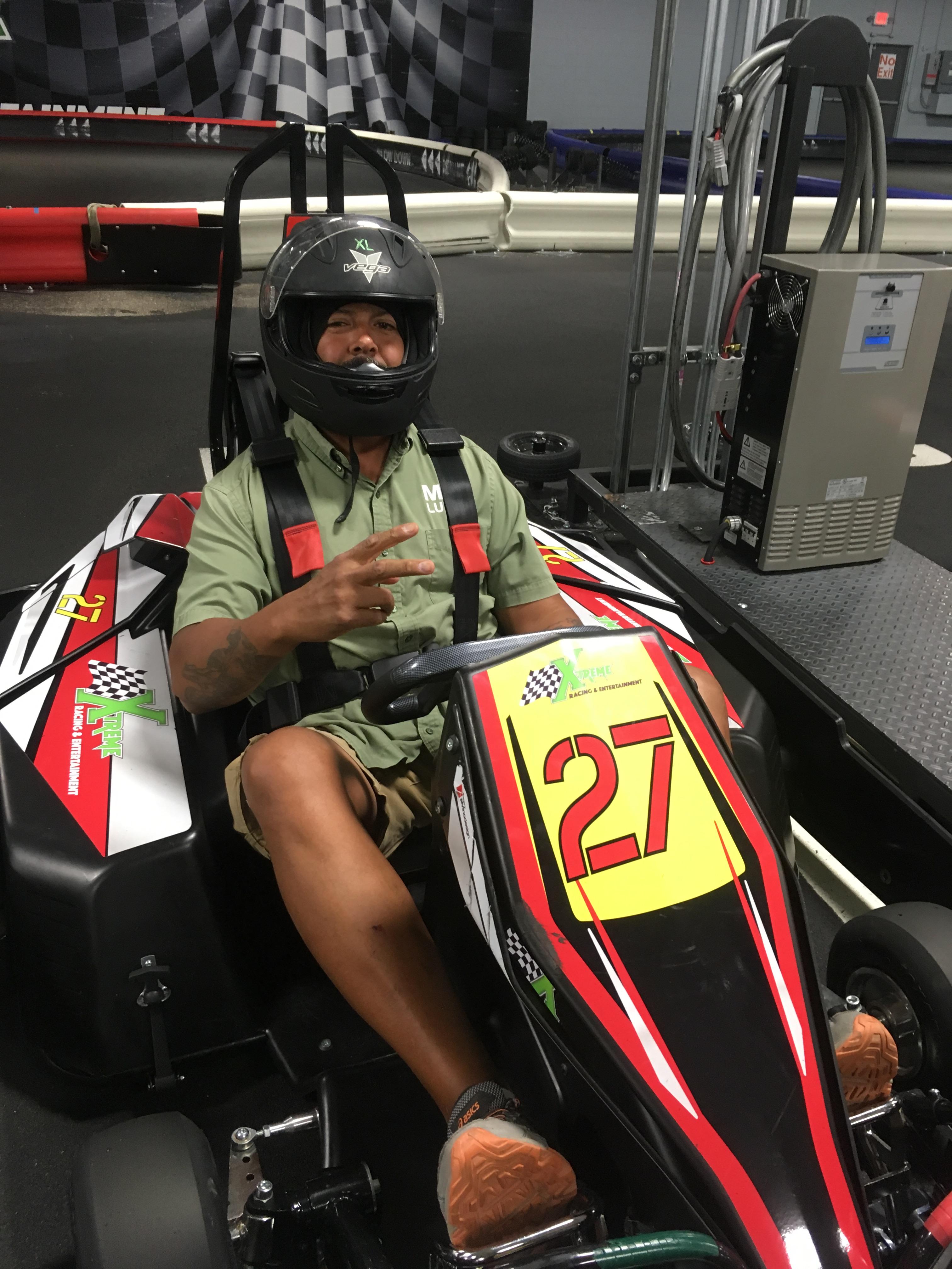 Kart Racing 8-22-17 - M & M Lumber