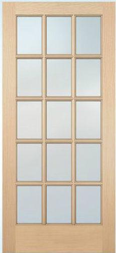 1515 French Doors 15 Lite 1 3 8 Wide 24 X80 30 32 36 80