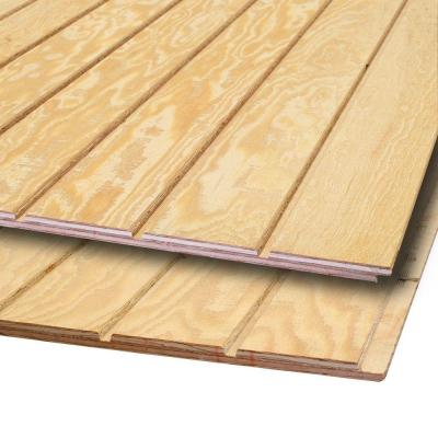 Fir Plywood Grooved